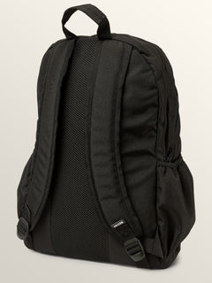 Fieldtrip Poly Backpack In Black, Back View