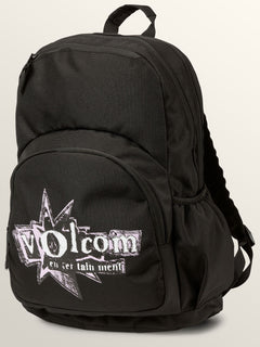 Fieldtrip Poly Backpack In Black, Front View