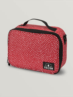 Brown Bag Lunch Box In Dot, Front View