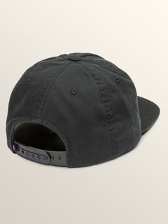 Big Boys Cycle Stone Hat In Black, Back View