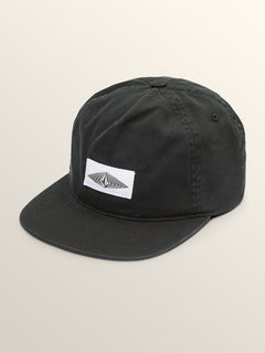 Big Boys Cycle Stone Hat In Black, Front View