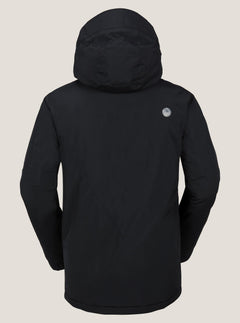 L Insulated Gore-tex® Jacket In Black, Back View