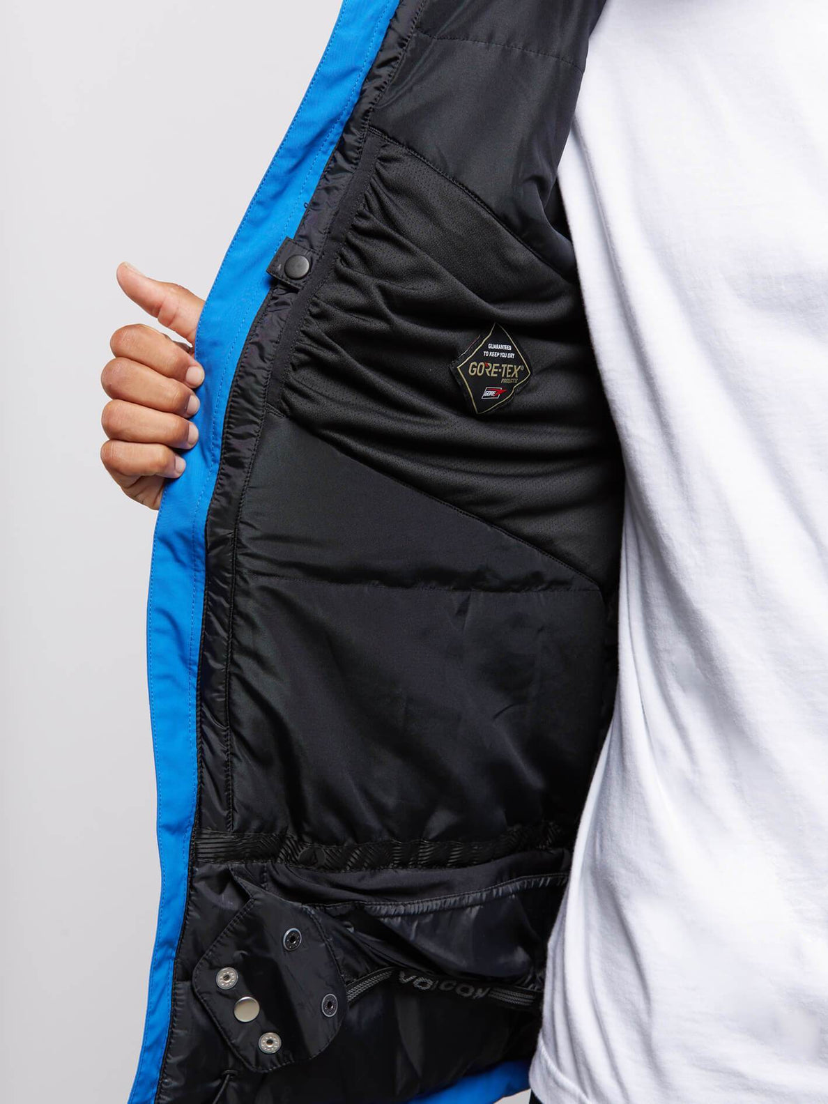 L Insulated Gore-tex® Jacket In Snow Royal, Alternate View