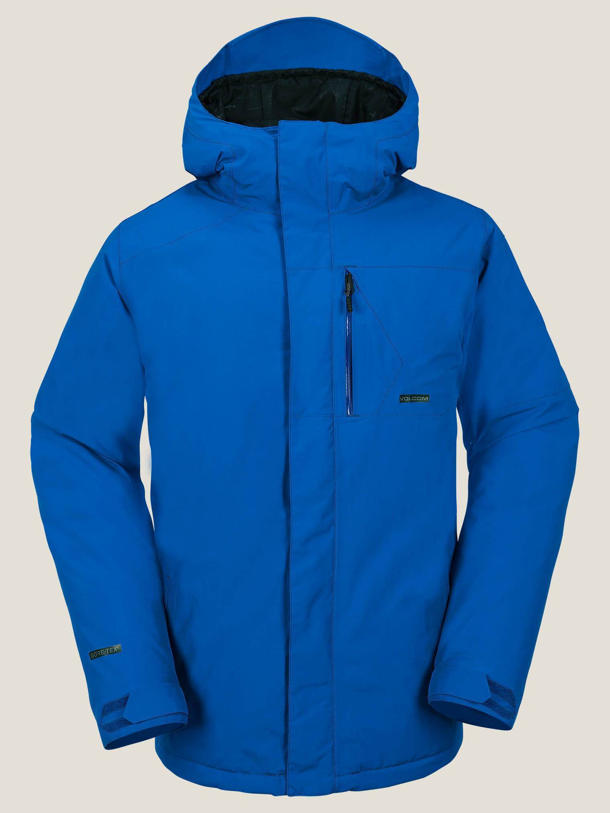 L Insulated Gore-tex® Jacket In Snow Royal, Front View