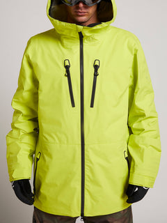 Tds® Inf Gore-tex Jacket In Lime, Alternate View