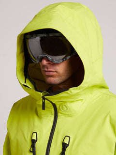 Tds® Inf Gore-tex Jacket In Lime, Second Alternate View
