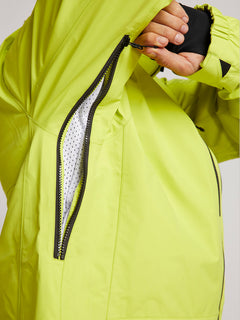 Tds® Inf Gore-tex Jacket In Lime, Fourth Alternate View