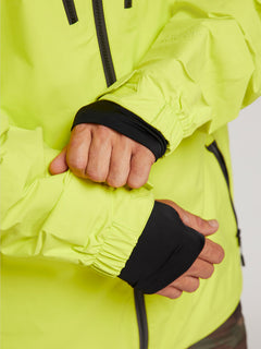 Tds® Inf Gore-tex Jacket In Lime, Fifth Alternate View