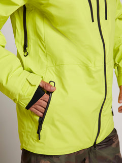 Tds® Inf Gore-tex Jacket In Lime, Seventh Alternate View