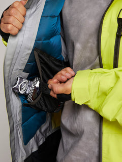 Tds® Inf Gore-tex Jacket In Lime, Eighth Alternate View