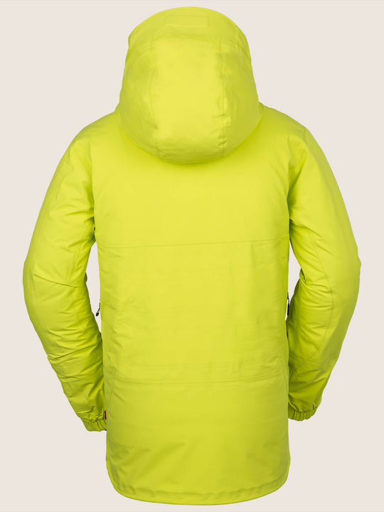 Tds® Inf Gore-tex Jacket In Lime, Back View
