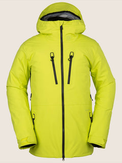 Tds® Inf Gore-tex Jacket In Lime, Front View