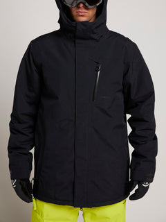 L Insulated Gore-tex Jacket In Black, Alternate View
