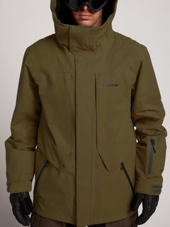 Anders 2L Tds® Jacket In Moss, Alternate View