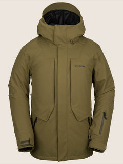 Anders 2L Tds® Jacket In Moss, Front View