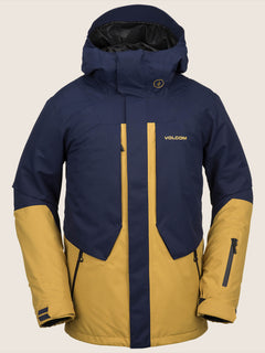 Anders 2L Tds® Jacket In Navy, Front View