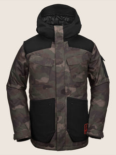 Vco Inferno Insulated Jacket In Camouflage, Front View