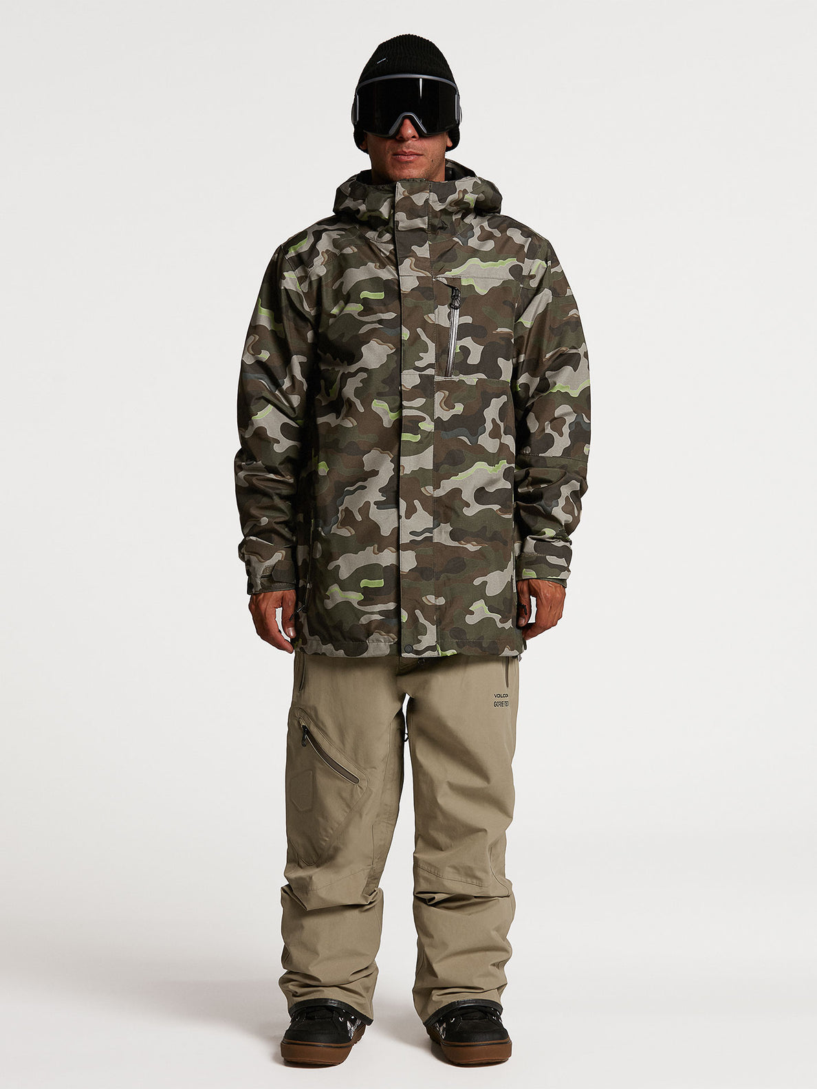 Mens L Insulated GORE-TEX Jacket - Army (G0452103_ARM) [01]