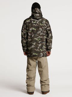 Mens L Insulated GORE-TEX Jacket - Army (G0452103_ARM) [02]