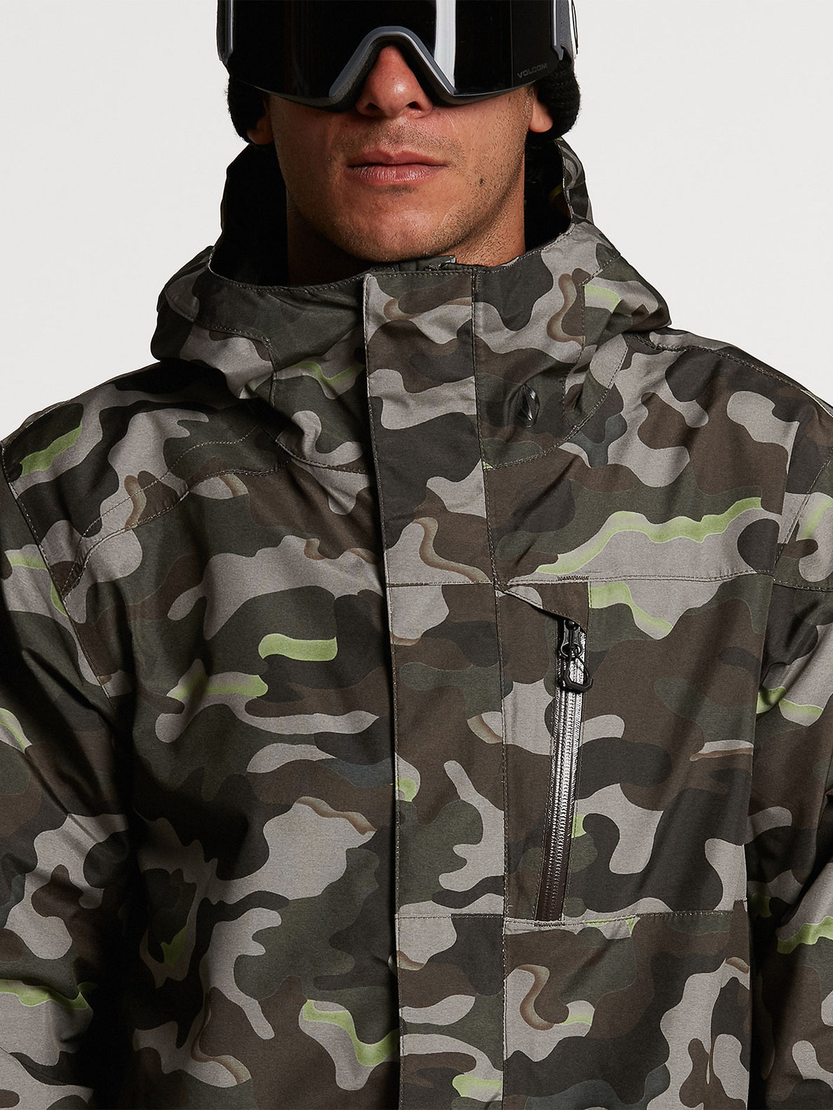 Mens L Insulated GORE-TEX Jacket - Army (G0452103_ARM) [03]