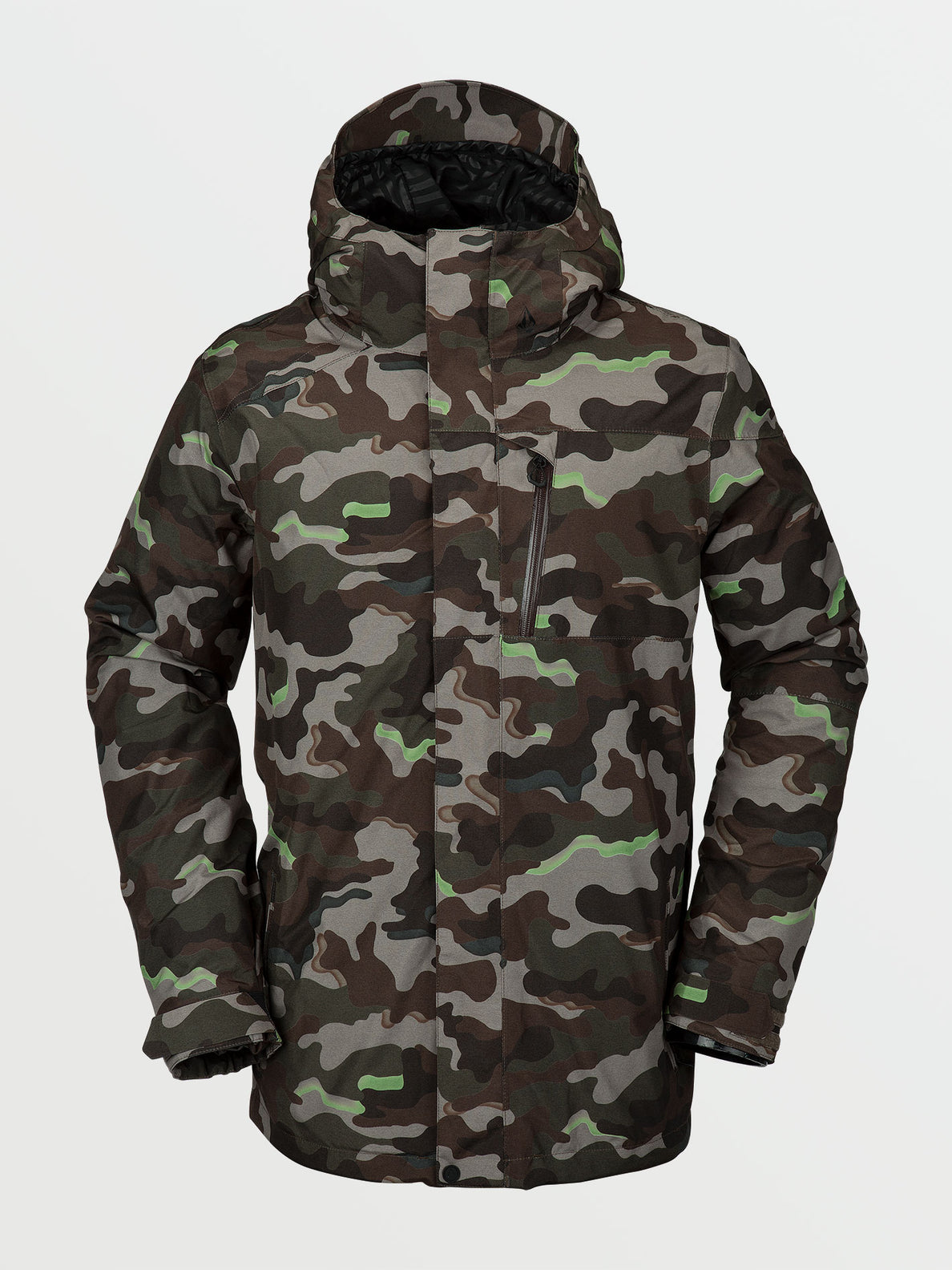Mens L Insulated GORE-TEX Jacket - Army (G0452103_ARM) [F]