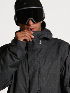 Mens Scortch Insulated Jacket - Black Static (G0452108_BTS) [05]