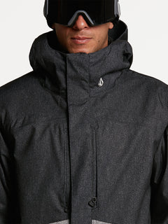 Mens Scortch Insulated Jacket - Black Static (G0452108_BTS) [06]