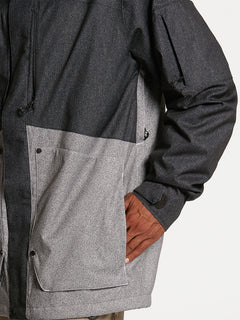 Mens Scortch Insulated Jacket - Black Static (G0452108_BTS) [08]