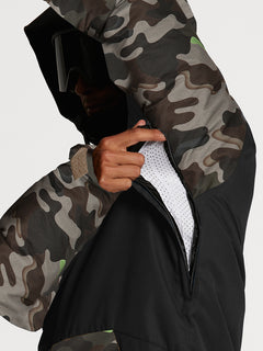Mens Deadly Stones Insulated Jacket - Army