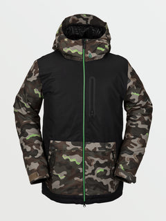 Mens Deadly Stones Insulated Jacket - Army (G0452109_ARM) [F]
