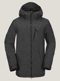 Prospect Jacket In Black, Front View