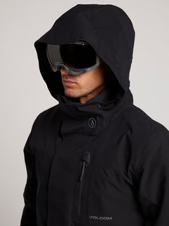 Bl Stretch Gore-tex Jacket In Black, Second Alternate View