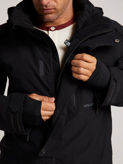 Bl Stretch Gore-tex Jacket In Black, Third Alternate View