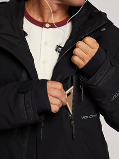 Bl Stretch Gore-tex Jacket In Black, Fourth Alternate View