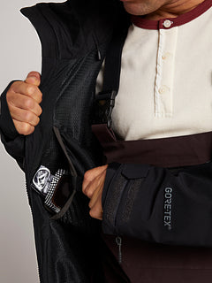 Bl Stretch Gore-tex Jacket In Black, Fifth Alternate View
