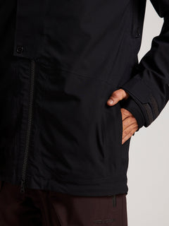 Bl Stretch Gore-tex Jacket In Black, Seventh Alternate View