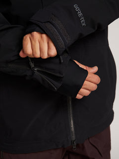 Bl Stretch Gore-tex Jacket In Black, Eighth Alternate View