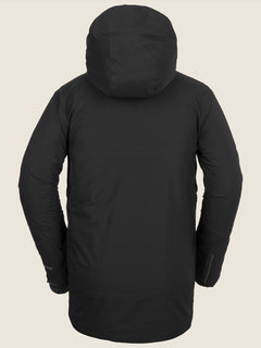 Bl Stretch Gore-tex Jacket In Black, Back View