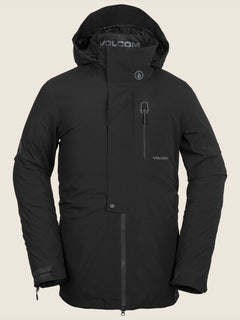 Bl Stretch Gore-tex Jacket In Black, Front View