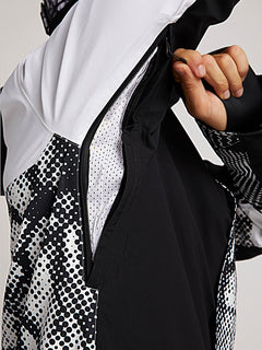 Bl Stretch Gore-tex Jacket In Black White, Seventh Alternate View