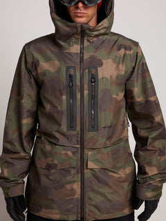 Stone Gore-tex Jacket In Camouflage, Alternate View