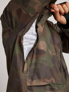 Stone Gore-tex Jacket In Camouflage, Sixth Alternate View