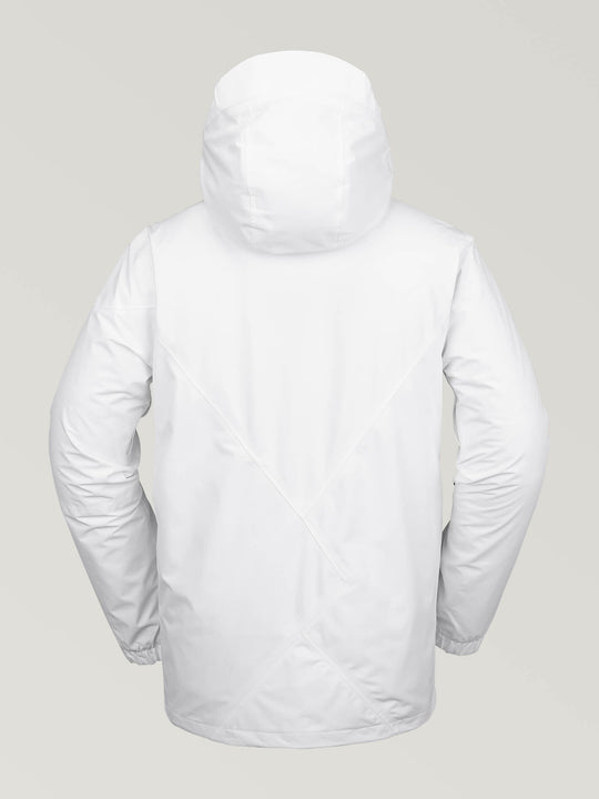 Mens L Gore-Tex Jacket - White (G0651904_WHT) [B]