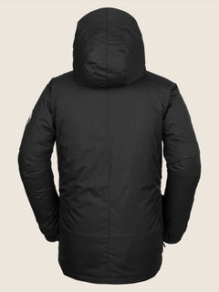 Fifty Fifty Jacket In Black, Back View