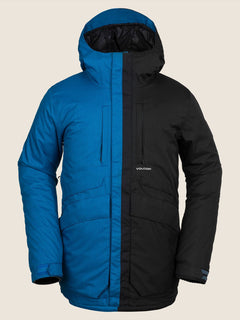 Fifty Fifty Jacket In Blue, Front View