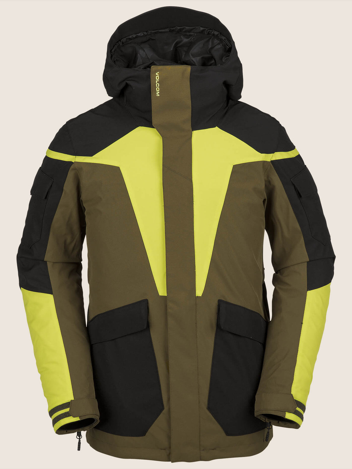 Utility Jacket In Moss, Front View