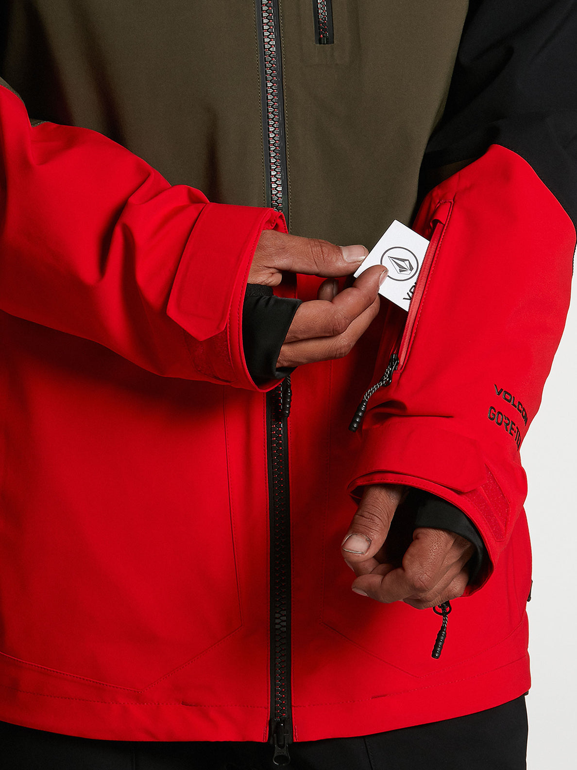 Mens BL Stretch GORE-TEX Jacket - Red (G0652102_RED) [06]