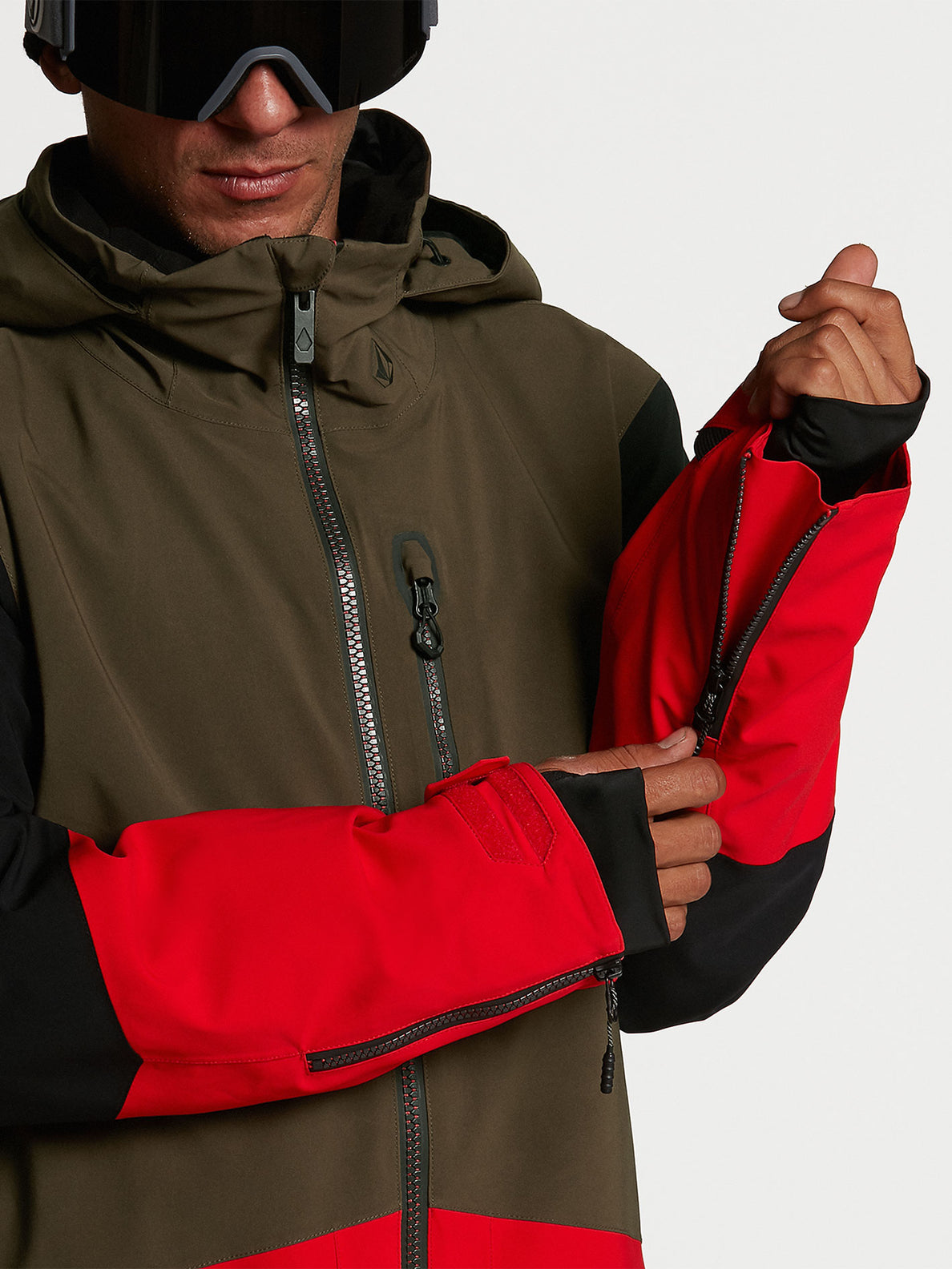 Mens BL Stretch GORE-TEX Jacket - Red (G0652102_RED) [08]
