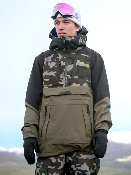 Mens Brighton Pullover - Army (G0652106_ARM) [50]