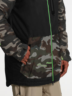 Mens Deadly Stones Jacket - Army